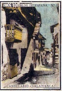 Colección de pueblos de España numero 2 candelario salamanca
