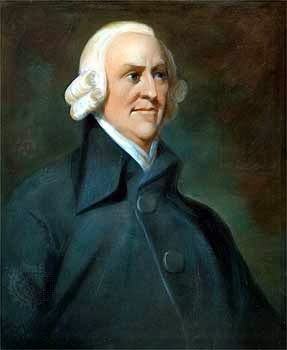 Profil  Adam Smith – Pencetus Ekonomi Kapitalis