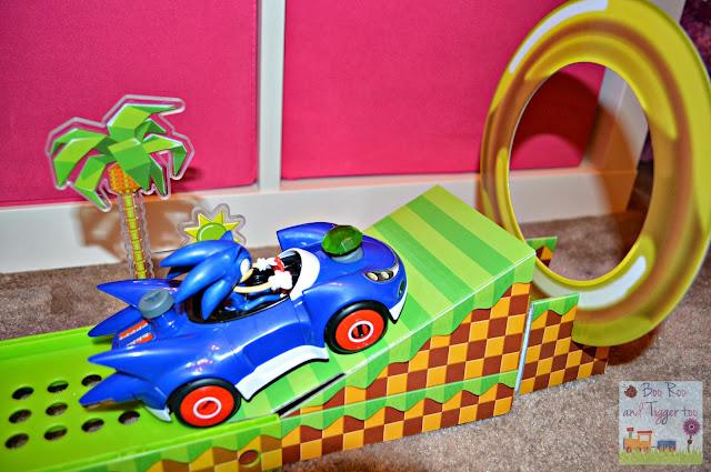 Meccano Sonic The Hedgehog - Sonic & Green Hill Ramp Playset