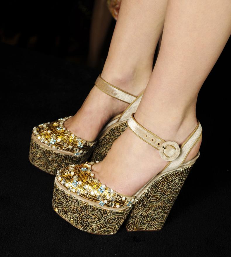Tuba Edman: Dolce & Gabbana Fall Winter 2014: The Shoes Дольче Габбана Обувь 2013
