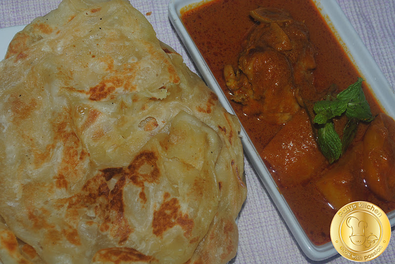 how to make roti bread malaysian