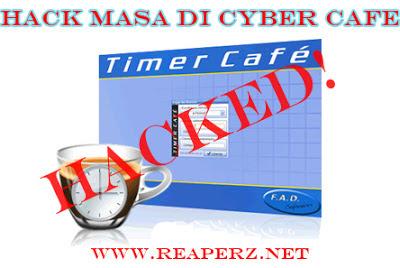 hack timer cyber cafe