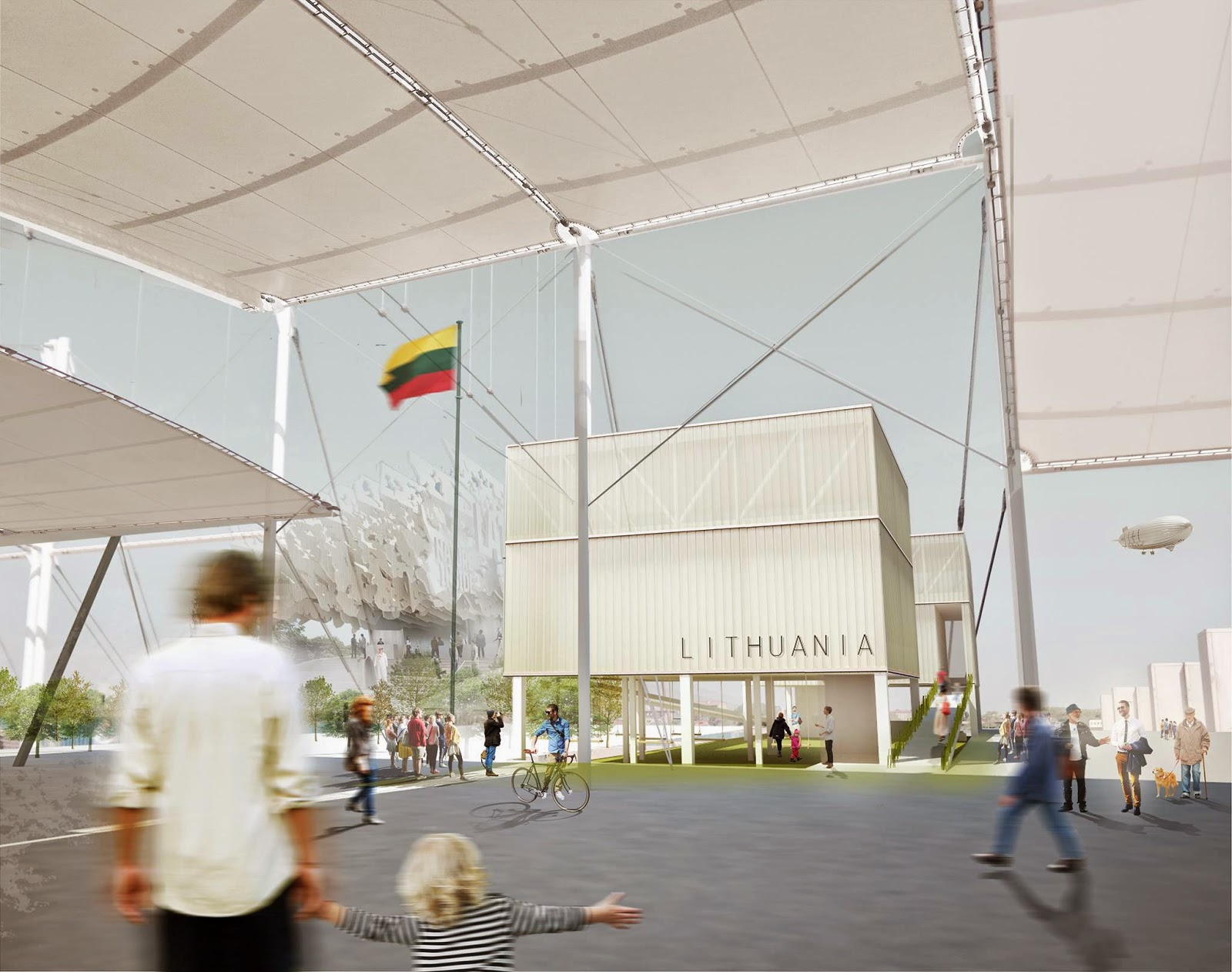 Expo 2015 Milano Blog Architecture Of Lithuanian Pavilion At Expo