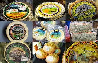 Asturias, tierra de quesos