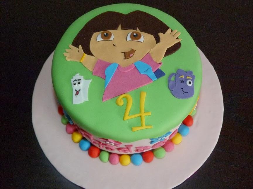 Tarta Dora Exploradora