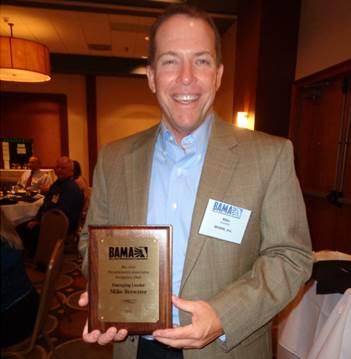 Congratulations to BAMA Award Winner!