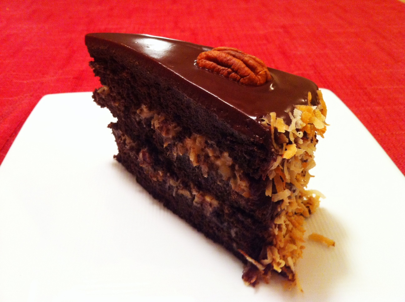 Fueling with Flavour: German's Chocolate Cake with Toasted Coconut