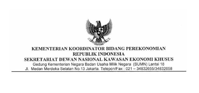 Lowongan Kerja Sekretariat Dewan Nasional Kawasan Ekonomi Khusus RI