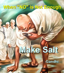 You too can make salt:  Creative Civil Disobedience