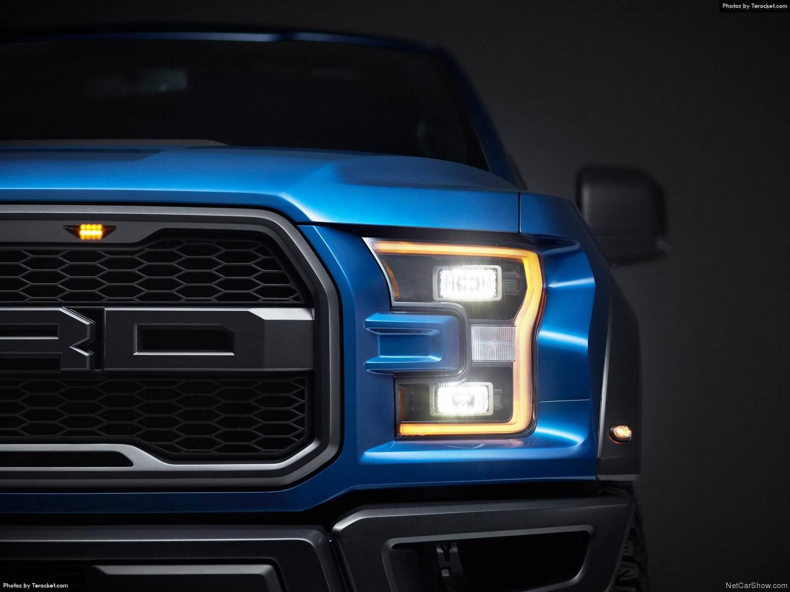Hình ảnh xe ô tô Ford F-150 Raptor 2017 & nội ngoại thất