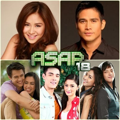 ASAP Diyes Is It Best of the Best: Sarah G, Piolo, KimXi, KathNiel, JulQuen (Dec 29)
