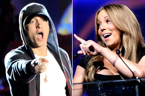 eminem and mariah carey relationship pictures