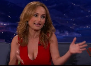 Giada De Laurentiis On Conan Cleavage