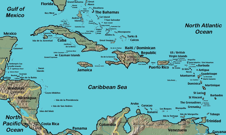 Betrayal on Aruba Winds: Maps