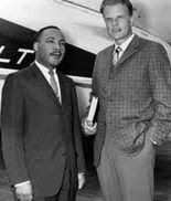 Luther King e Billy Graham