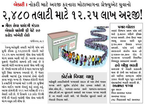 Revenue Talati Related News