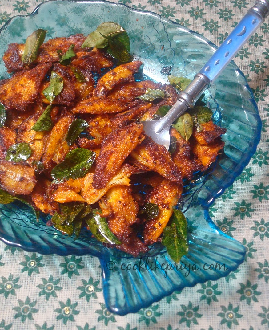 Cook like priya nethili fish fry anchioves fish fry for Fish fry ingredients