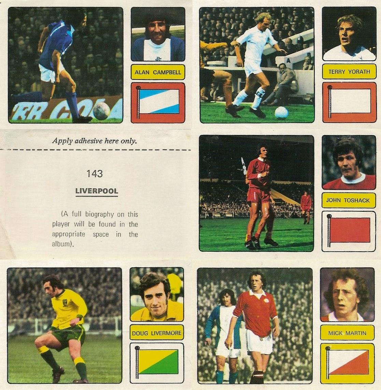 FKS 1973//74 WONDERFUL WORLD OF SOCCER STARS-#182-NEWCASTLE-JOHN TUDOR