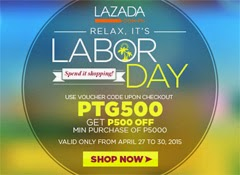 Lazada Labor Day Sale