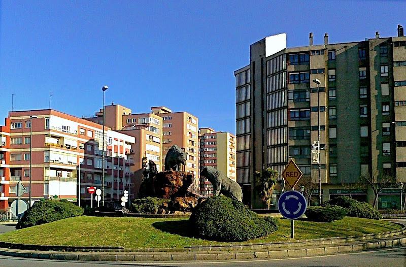 Rotonda de los Osos en Santander