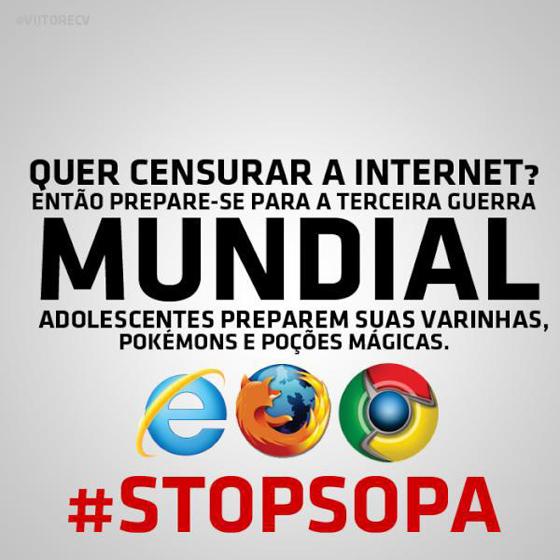 #STOPSOPA - Terceira guerra mundial ?!?
