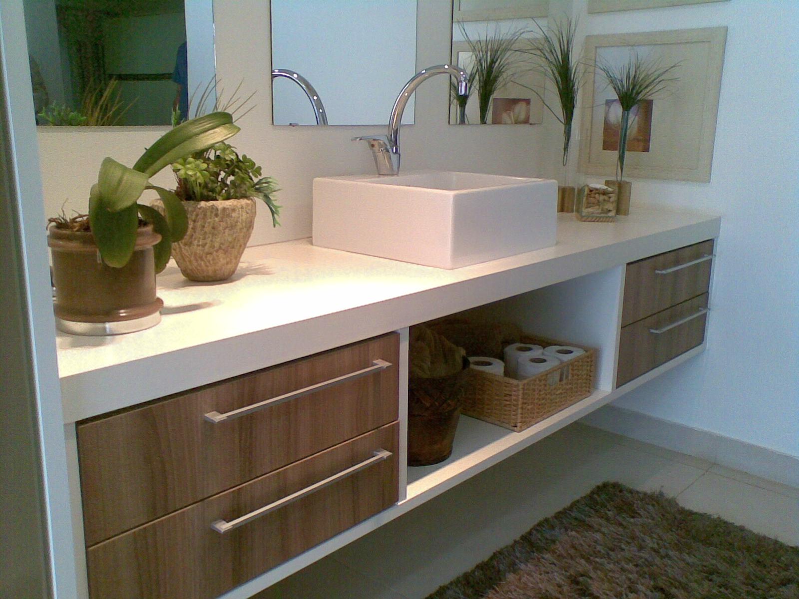 Construir com Arte Dicas Dell Anno -> Banheiros Planejados Dellanno