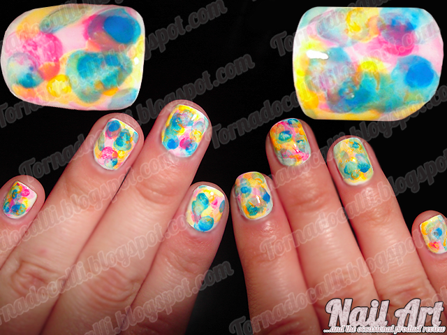 A Fistful Of Fingernails Nail Art Cosmetic Goodness Watercolor Nails