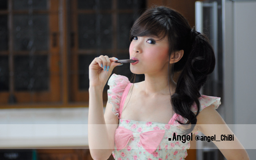 Angel Cherry Belle Foto Profil Chibi 1