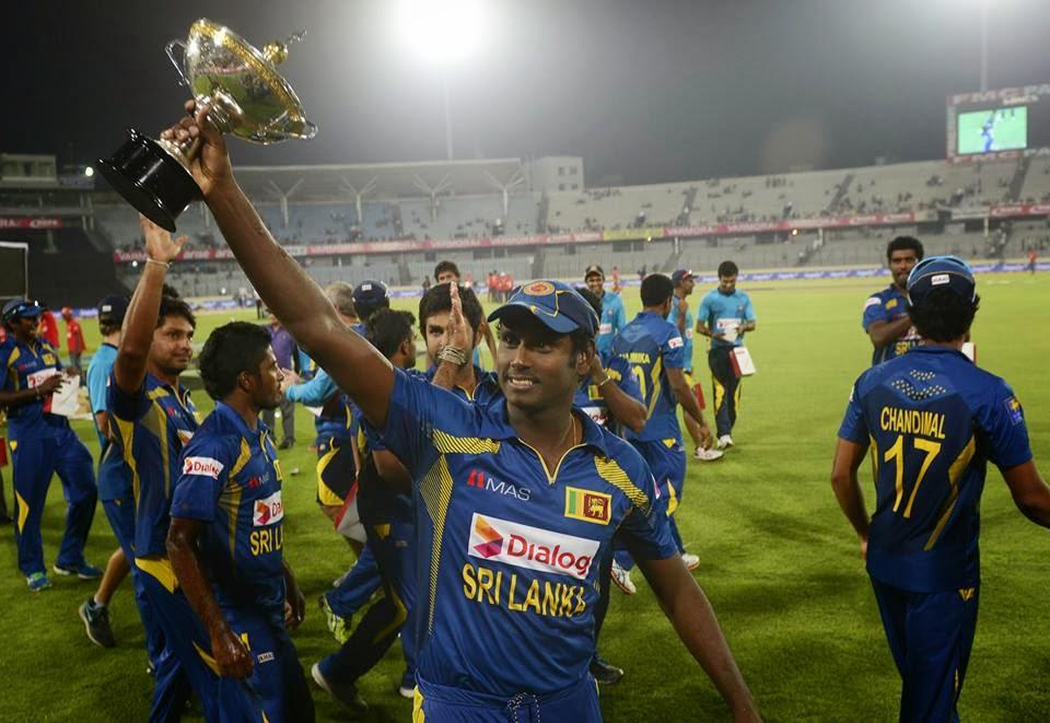 Sri Lanka Won Asia Cup 2014