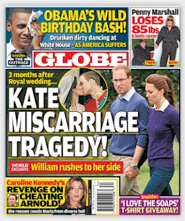 Kate Middleton Miscarriage Tragedy!