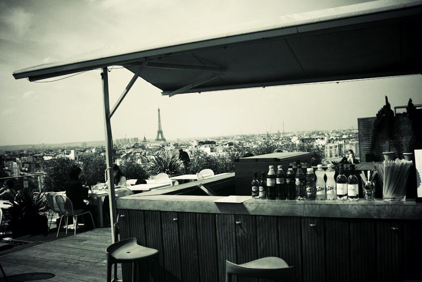 sur les toits de paris terrasse printemps haussmann happy city. Black Bedroom Furniture Sets. Home Design Ideas