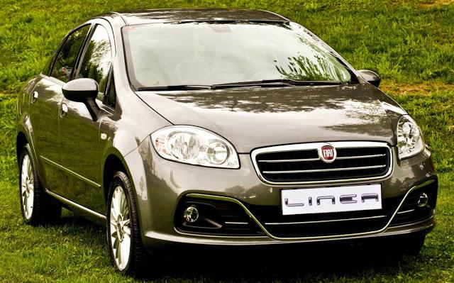 novo Fiat Linea 2014 dianteira