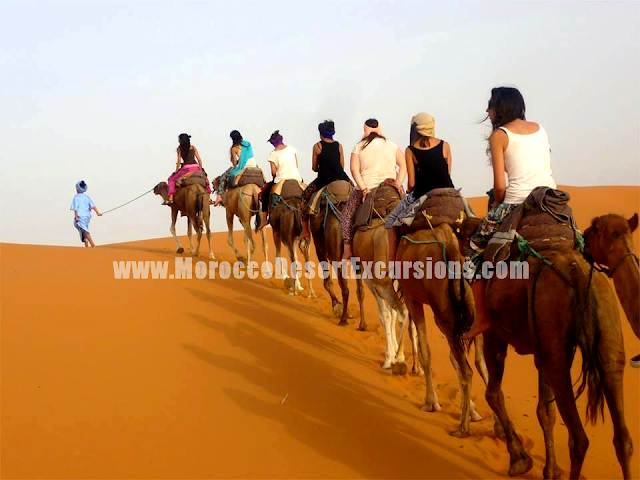 Camel Trekking in Merzouga & Night in the desert camp