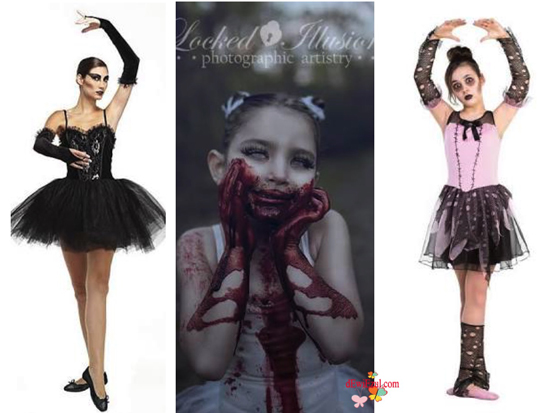 ide-idea Ballerina for Halloween