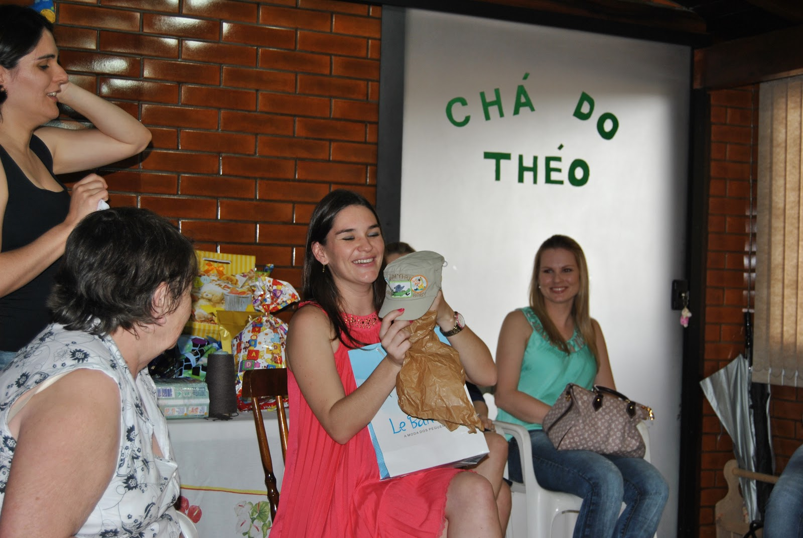Chá De Bebê Agradecimento Vida Do Théo