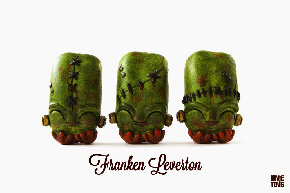"""Franken"" Edition Watson Leverton Hot Dog Resin Figure by UME Toys"