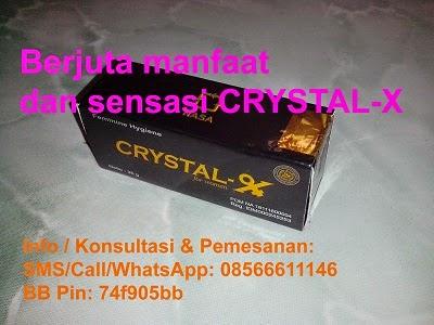 Crystal X memiliki manfaat yang luar biasa