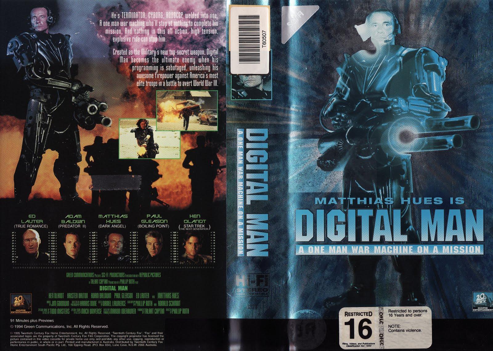 Movie digital man