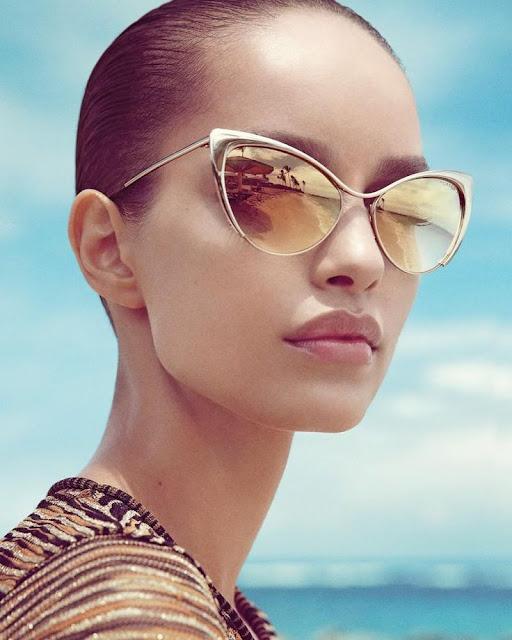Óculos de sol com estilo Tom Ford