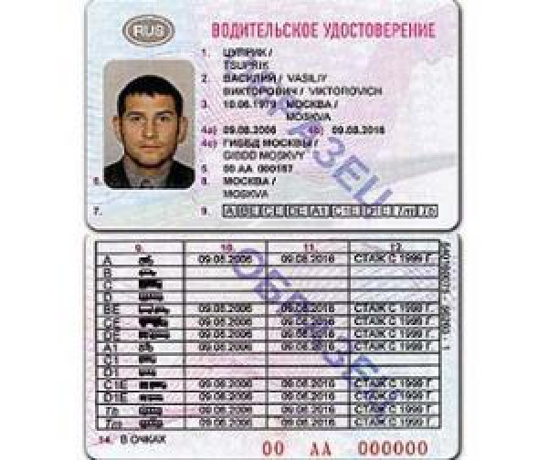 Справки для гибдд замена водительского удостоверения в Дедовске