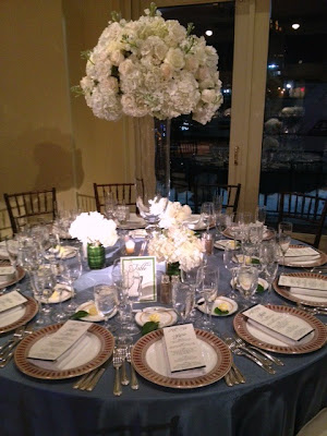 white wedding flowers, wedding reception flowers, white flower centerpiece
