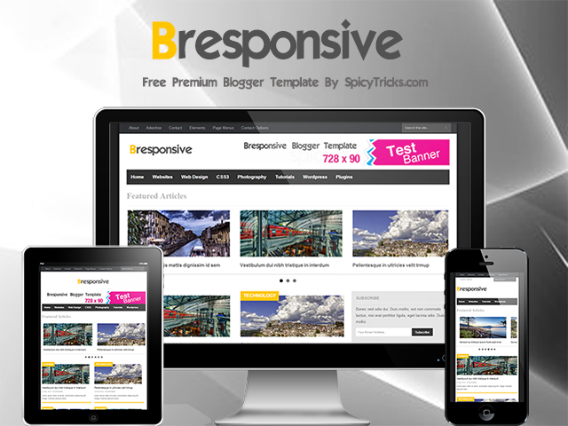 bresponsive-free-Responisve-Blogger-Template