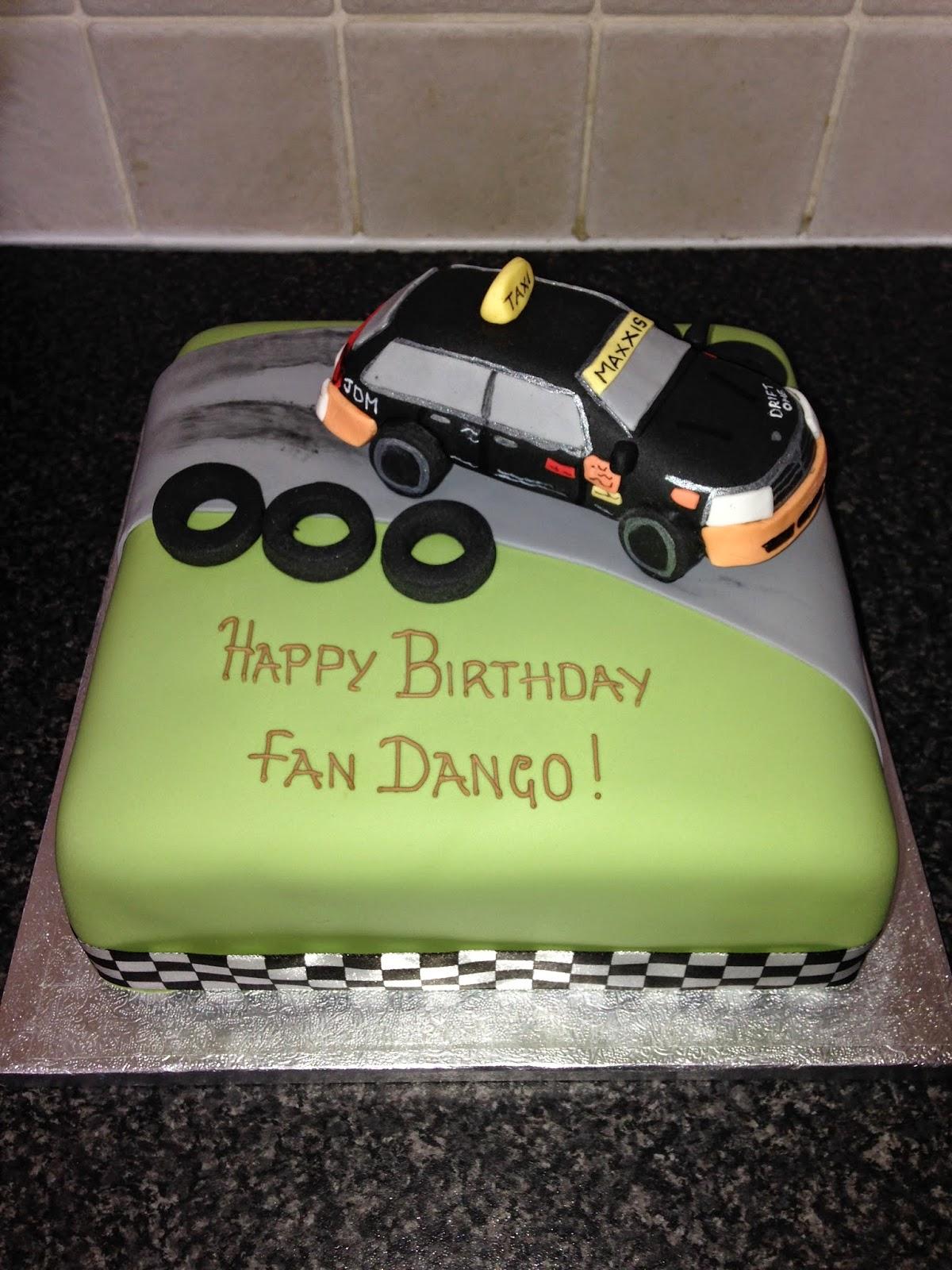 Sarah T Cakes Racing Car Birthday Cake