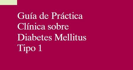 RedgedapS: Guía de Práctica Clínica sobre Diabetes