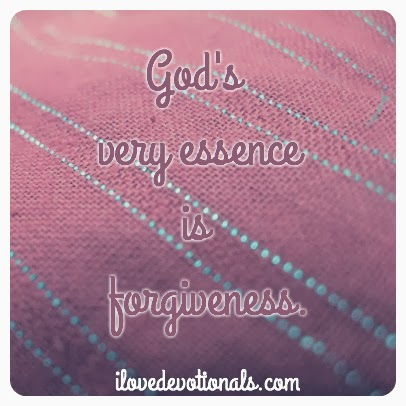 God's essence is forgiveness