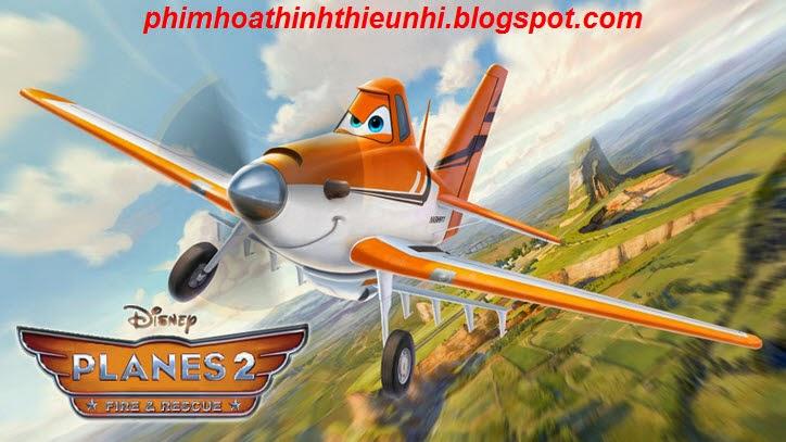 Phim hoạt hình Thế giới máy bay 2: Anh hùng và biển lửa