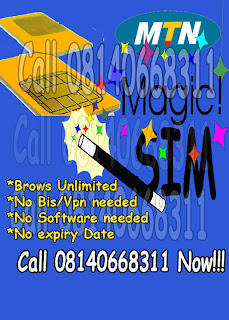 mtn magic sim (unlimited downloading
