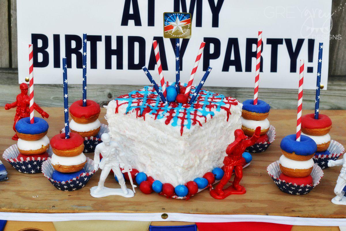 Greygrey Designs My Parties Army Party
