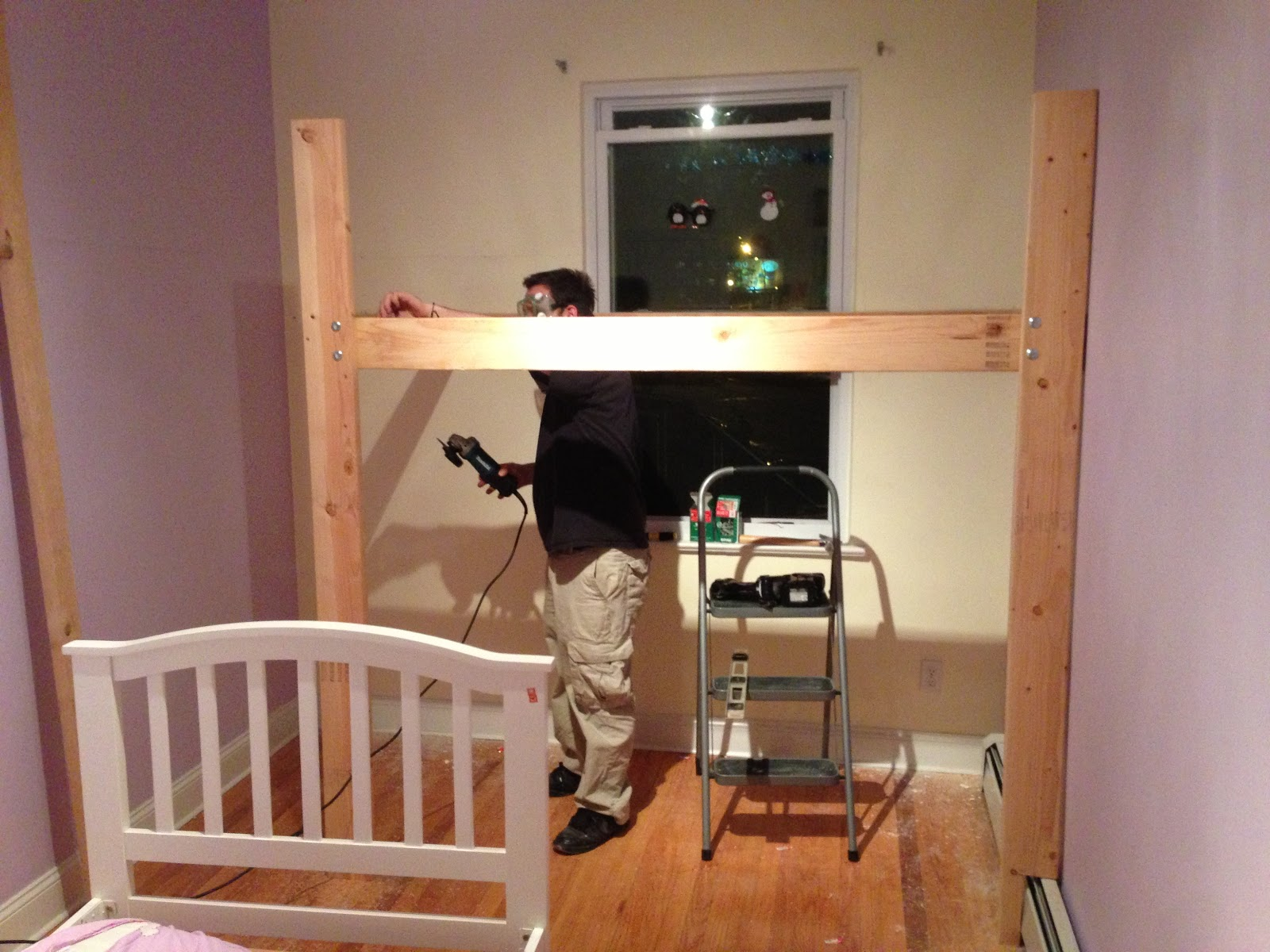 Loft Bed With Swing Out Walls