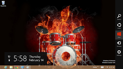 Drum Theme For Windows 8 And Windows 7